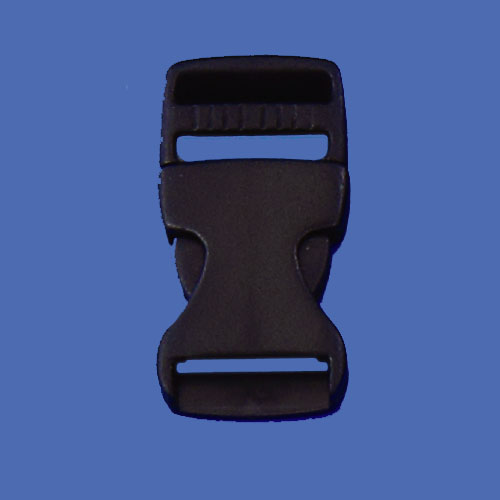 Side release plastic buckles